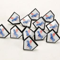12 MLB Los Angeles Dodgers Cupcake Rings Dodgers Toppers Par