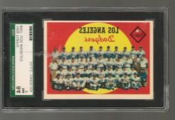 1959 Topps Baseball Graded - #  457 Los Angeles Dodgers SGC