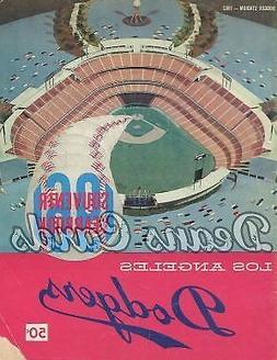 1961 Los Angeles Yearbook - Artwork of a Dodger Stadium