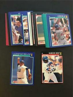 1991 Score Los Angeles Dodgers Team Set With Rookie Traded 4