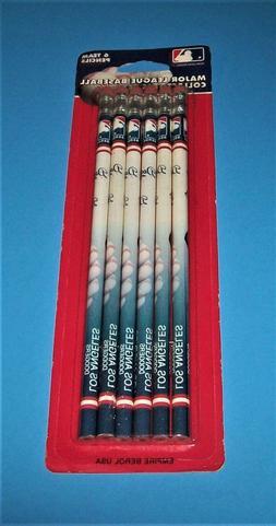 1993 Major League Baseball Collectors Set ~ 6 Team Pencils ~