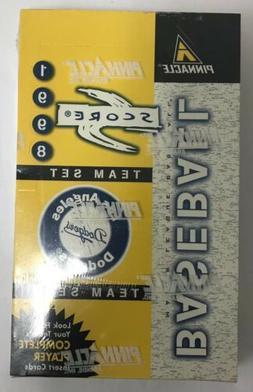 1998 Score Los Angeles Dodgers Baseball Hobby Box Factory Se