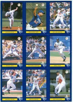 2003 Los Angeles Dodgers Police Team Set 30 cards w/ Adrian