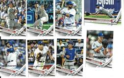 2017 Topps All-Star Game Silver Parallel Baseball Team Set-L