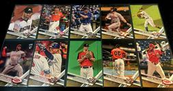 2017 Topps Update GOLD Parallel Cards - Complete Your Set!