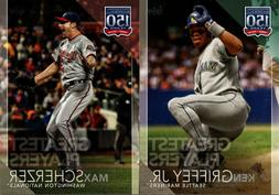 2019 TOPPS SERIES 2 150 YEARS OF BASEBALL GREATEST PLAYERS I