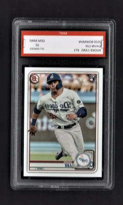 2020/20 Dustin May Topps Opening Day Rookie Graded 10 Los An