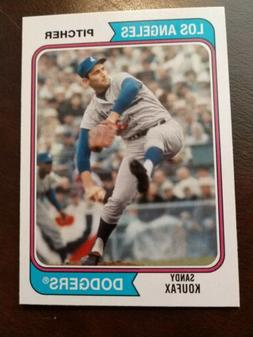 2020 Archives Base #122 Sandy Koufax - Los Angeles Dodgers