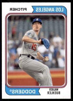 2020 Archives Base #183 Walker Buehler - Los Angeles Dodgers