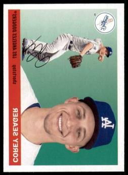 2020 Archives Base #81 Corey Seager - Los Angeles Dodgers