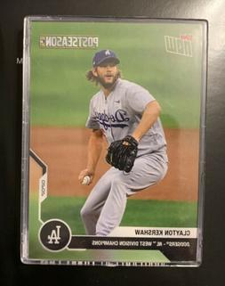 2020 Los Angeles Dodgers TOPPS NOW Postseason 10 Card Team S