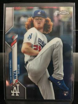 🔥 2020 Topps CHROME Dustin May **Rookie Base Card #176**