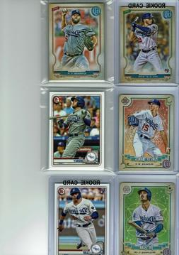 2020 Topps Gypsy Queen Los Angeles Dodgers Team Set  Base Ca