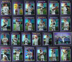 2020 Topps Heritage Purple Chrome Hot Box Baseball Cards U Y
