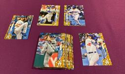 2020 Topps Los Angeles Dodgers Gold Star Parallel Team Set L