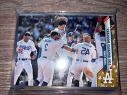 2020 Topps Los Angeles Dodgers Parallel GOLDSTAR Team set!