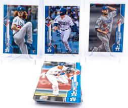 2020 Topps Los Angeles Dodgers Team Set Blue Parallel /299 S