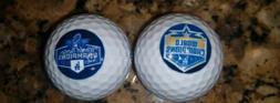 2020 world series champions logo golf balls