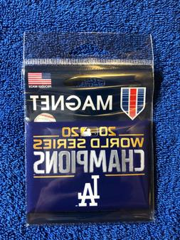 2020 Los Angeles Dodgers World Series Champions Magnet New