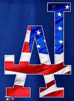 3 Los Angeles Dodgers USA Waterproof Vinyl Stickers 3.5x2.5