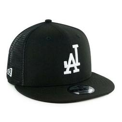 "New Era 950 Los Angeles Dodgers ""Black White"" Trucker Snapba"