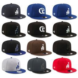 Los Angeles Dodgers LAD MLB Authentic New Era 9FIFTY Snapbac