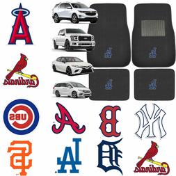 Brand New 4pc Set MLB Pick Your Team Car Truck Front Back Ca