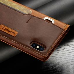 Case for iPhone 11 Pro MAX XR XS 6s 7 8 Durable  Leather Fli