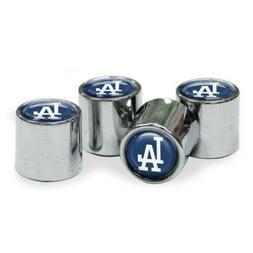 Chrome Plastic Baseball Los Angeles Dodgers Tire Valve Stem