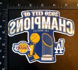 City Of Champions - Los Angeles Lakers x Los Angeles Dodgers
