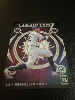 Cody Bellinger 2020 Donruss Optic Mythical Insert #5 Los Ang