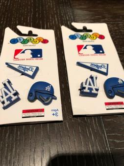 Crocs MLB Jibbitz Los Angeles Dodgers 3pk