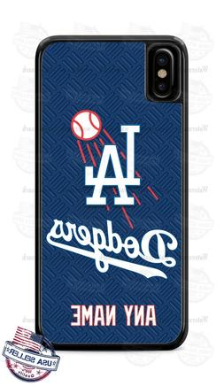 Custom Los Angeles Dodgers Personalize Phone Case Cover fits