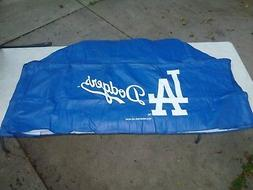 DELUXE VINYL GRILL COVER  Los Angeles Dodgers  68x21x35  FIT