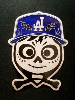 "Disney Coco Miguel LA Los Angeles Dodgers Sticker Decal 3""x4"