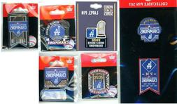 Dodgers 2020 World Series Champions Pin Choice L.A. Champs L