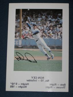 Dodgers RON CEY #10 Baseball TRADING CARD Los Angeles Police
