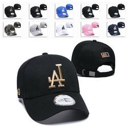 Embroidered Los Angeles Dodgers Cap LA Unisex Baseball Cap A