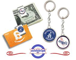 FREE DESIGN > LOS ANGELES DODGERS - Money/Gift Card Clip or