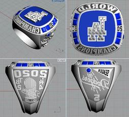 HOT MLB 2020 Los Angeles Dodgers CHAMPIONSHIP RINGS Pre-sale