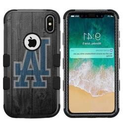 iPhone XR  Hard+Rubber Rugged Case Los Angeles LA Dodgers #W