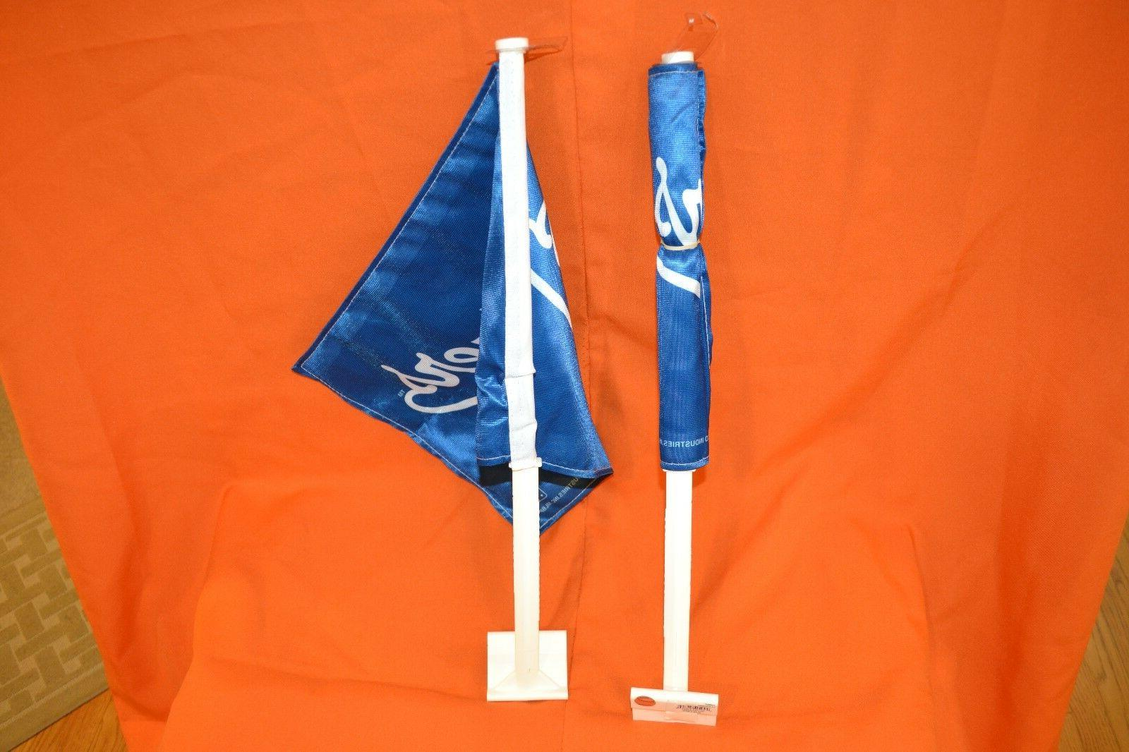 1 Lot 2 Los Flags, MLB Two Sided