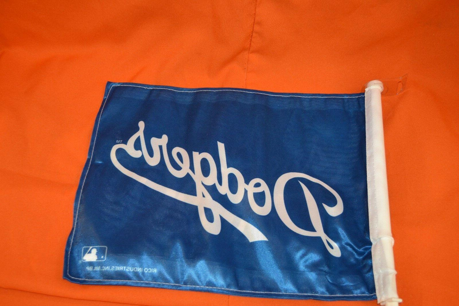 1 of 2 Los Dodgers Flags, Licensed, Sided