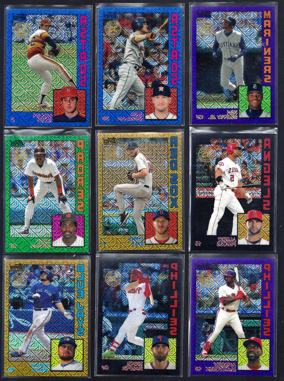 2019 topps series 2 silver pack 1984