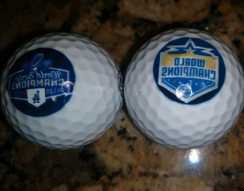 Los Angeles World Champions Golf Balls 2.