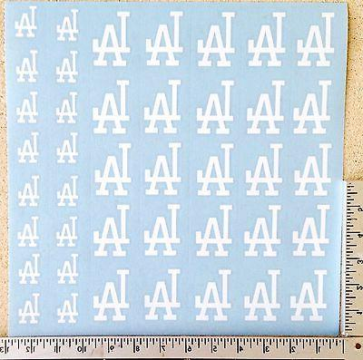 40 los angeles dodgers decal stickers baseball