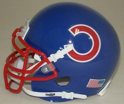 chicago cubs mini football helmet