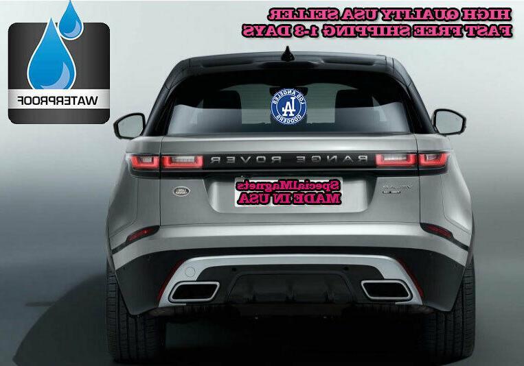 LOS DODGERS Logo NEW Bumper Decals