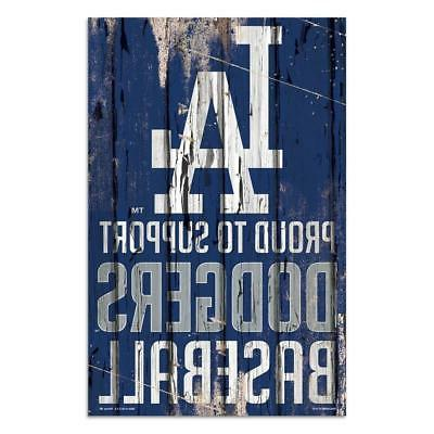 los angeles dodgers 11 x17 proud to