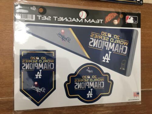 Los 2020 Champions + Bumper Sticker Decal MLB